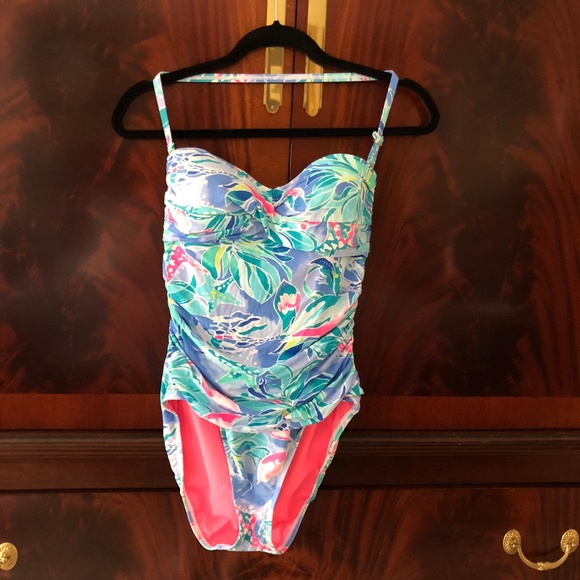 12ce9df7db Lilly Pulitzer Other - Lilly Pulitzer Flamenco One-Piece Bathing Suit